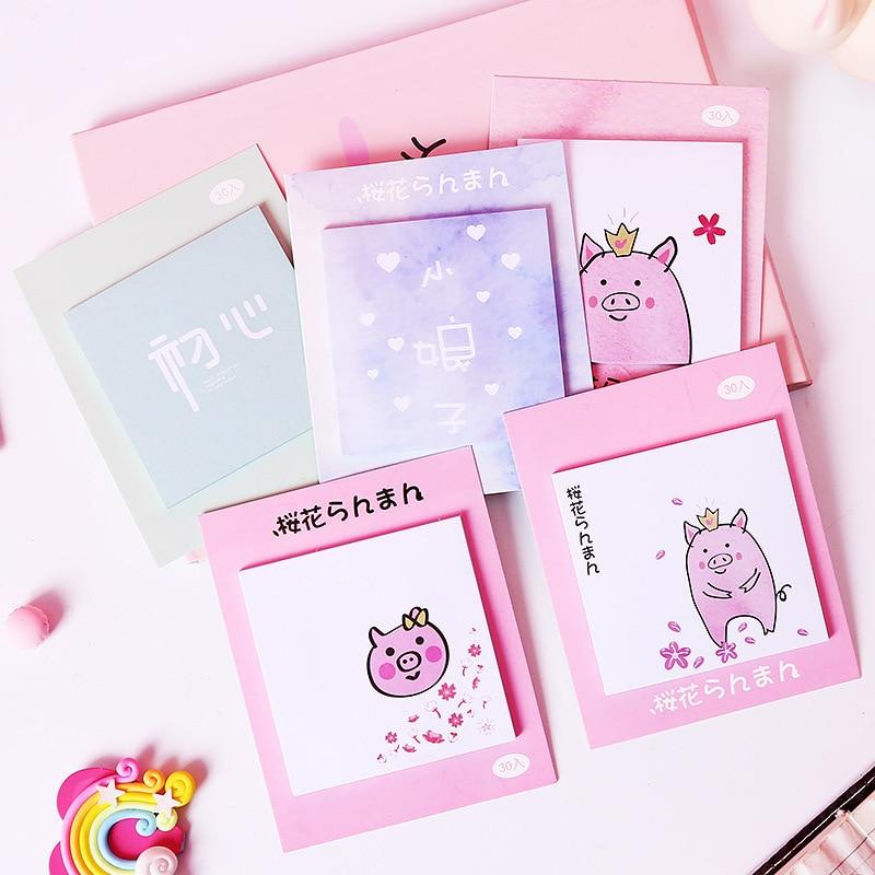 Office & School Supplies Cxzy Bear Panda Page Flags Rilakkuma Sticky Note Kawaii Pink Index Tab Memo Pad Planner Sticker Items List Stationery Post 3b815 Notebooks & Writing Pads