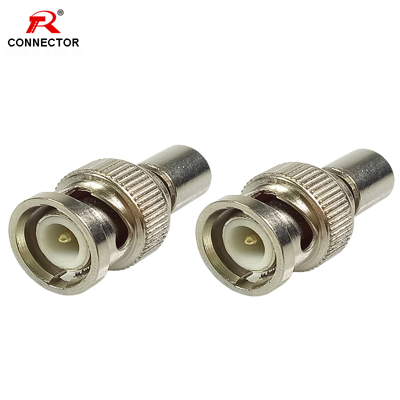 1PC BNC MALE TERMINATOR Connectors 50ohm 75ohm BNC MALE TERMINATOR