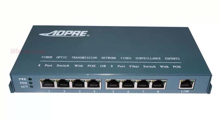 AOPRE 8-Port 10/100Mbps POE switch Power Over Ethernet For IP Camera Network Switch VoIP Phone AP Devices Network Switch  reverse poe 8 ethernet port gepon onu fttb mdu g108p