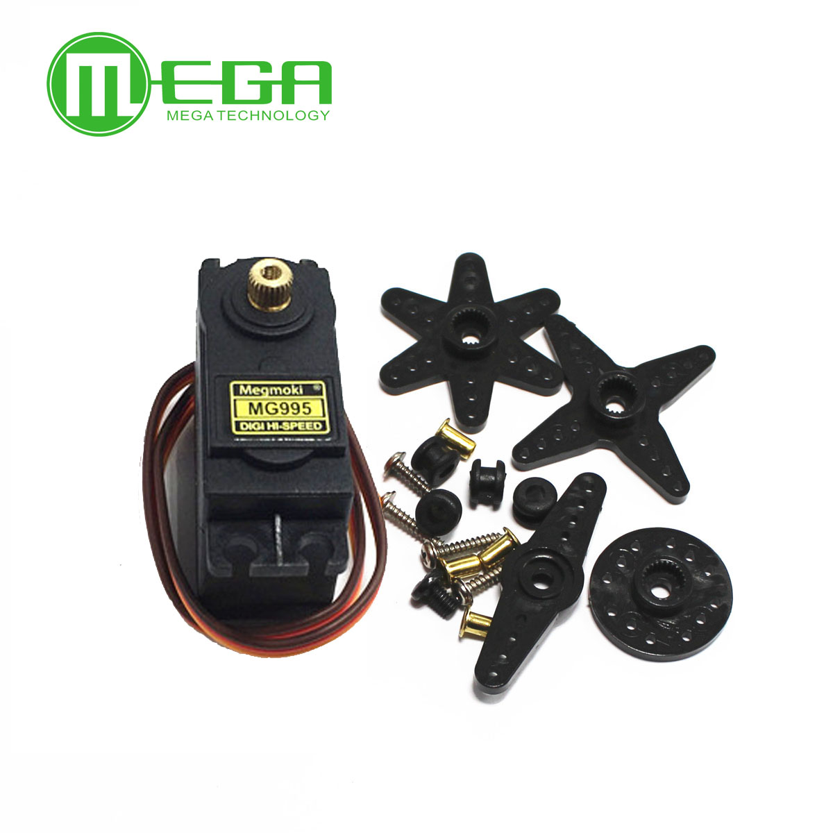 Image 2 - 13KG 15KG Servos Digital MG995 MG996 Servo Metal Gear for Futaba JR Car RC Model Helicopter Boat-in Integrated Circuits from Electronic Components & Supplies