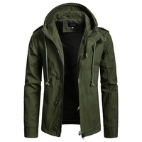 Brand Clothing New Autumn Men's Jacket Coat Military Clothing Tactical Outwear US Army Breathable Light Windbreaker XXXL