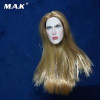 1/6 Scale Female Head Sculpt Biohazard Alice Blond Female Head Carved for TBL Phicen Pale Figure Body Dolls Accessory