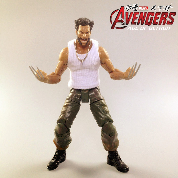 Wolverine 2 Movie Version Of The X-Men X-Man Ultra-Movable Multi-Accessories Doll Model Hand Boxed T34 wolverine and the x men volume 2 death of wolverine