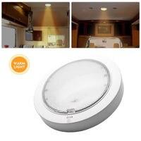 9w led 9W LED Interior Roof Ceiling Cabin Light Warm White Caravan Motorhome Lamp 12V (2)