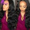 8A en Bruto Peruano Virgin Hair Body Wave 4 Unids Porción Al Por Mayor 8-28 Pulgadas Onda Del Cuerpo Peruano Color Natural Del Pelo Virginal