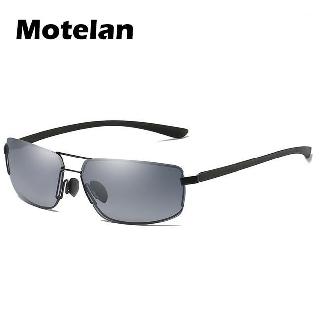 1b64c66a28a8e 2018 New Men s Driving Polarized Sunglasses Fashion UV400 Protection  Rimless Metal Driving Golf Fishing Male Summer Sun Glasses