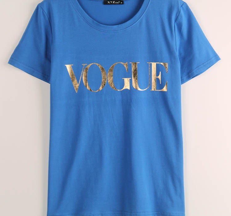 HTB1yHvPJVXXXXXeXVXXq6xXFXXXP - VOGUE Printed T-shirt Women Tops Tee Shirt Femme New Arrivals
