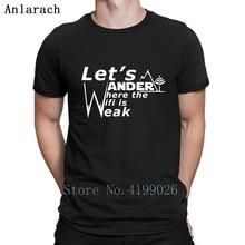 97a4b299 Hiker Hikings Mountain Hobby Wander T-Shirt Letter Custom Gift Tshirt For  Men Pop Top