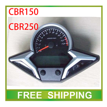 modified CBR150 CBR250 250cc 150cc street bike ODOMETER motorcycle speedometer led LCD speedo meter instrument  Free Shipping