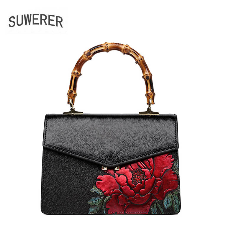 2018 new womens handbag new temperament commuter bag top layer leather simple handbag luxury printed shoulder bag2018 new womens handbag new temperament commuter bag top layer leather simple handbag luxury printed shoulder bag