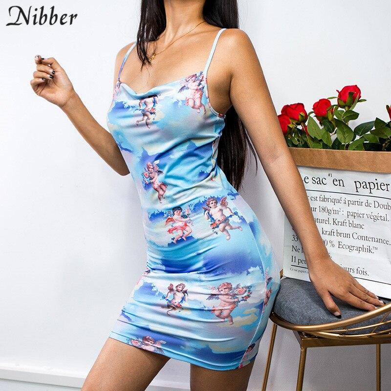 052a6b30d 2019 primavera y otoño de las mujeres de gasa vestidos soporte de cuello  con arco Floral