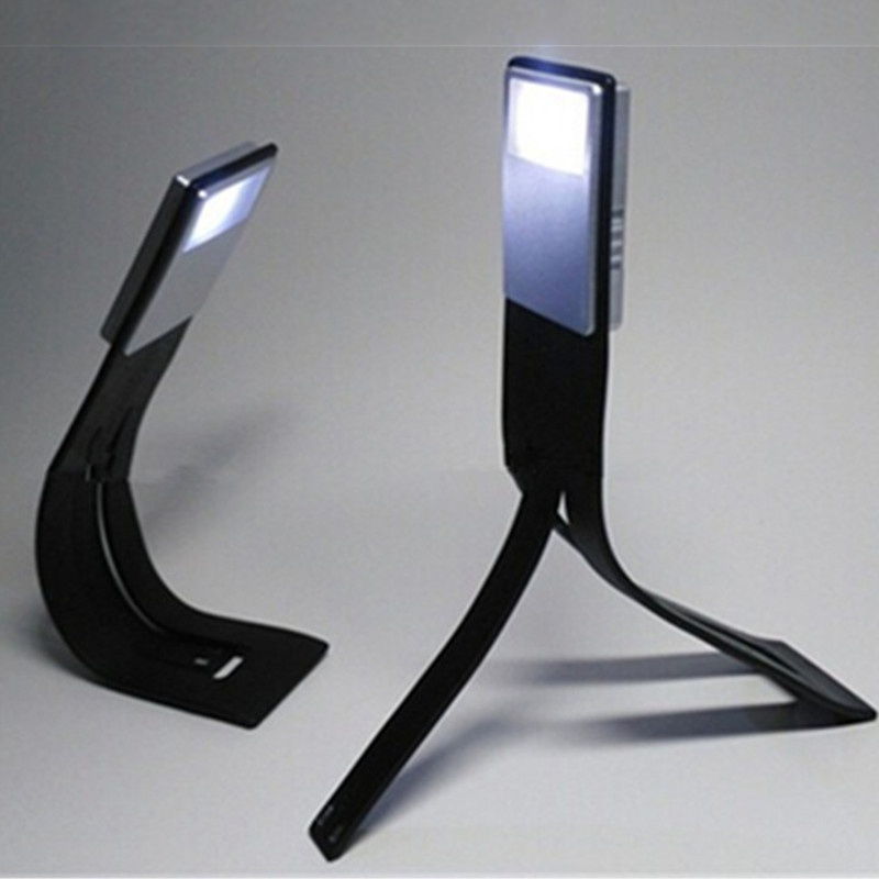Rechargeable Led Book Lights Chargeable Flat Led USB Charge Fold Bending Adjust Reading Lights Book Lights