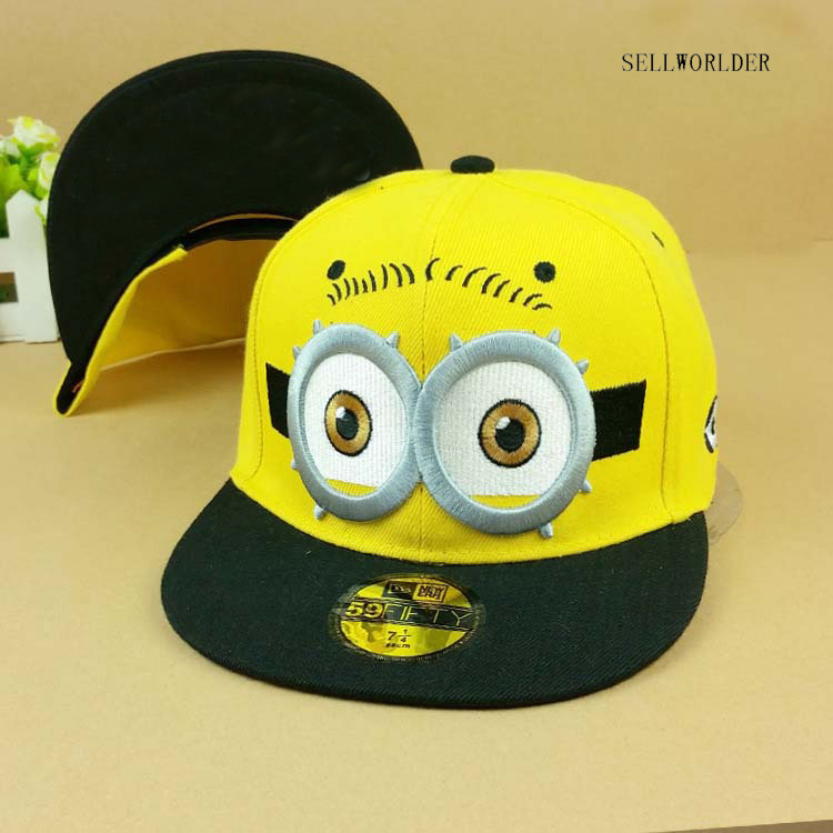 SELLWORLDER Adults & Kids 3Style Baseball Caps 2018 Cartoon Hip hop Character Hats & Caps