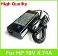 19 V 4.74A 90 W AC adaptador del ordenador portátil fuente de alimentación para HP HDX X16-1000 1100 1200 300 X 16 T Mini 5100 5101 5102 5103 5105 cargador