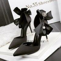 Fashion beautiful European sexy ladies high heels Spring/Autumn elegant luxury women party high heels casual solid women shoes