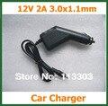 2 pcs 12 V 2A Car Charger DC 3.0*1.1mm para Tablet PC acer iconia tab a500 a501 a200 a210 a211 a100 a101 adaptador