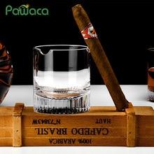 Стакан для виски, сигары, сигареты, прозрачный кристалл, стакан для виски, для питья вина, ликера, бренди, пива, держатель для сигар, бокал для вина es
