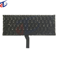 5pcs/lot AZERTY FR French France Keyboard without Backlight & keyboard screws for Macbook Air 13.3″ A1369 A1466 2011-2015 Year