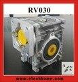 Червь редуктор от 5:1 до 80:1 RV030 червь редуктор скорости редуктор с валом адаптер рукава для 8 мм входного вала двигателя Nema 23