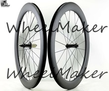 2017 new carbon wheelset . 60T full carbon tubular , super light 700c road bike wheelset