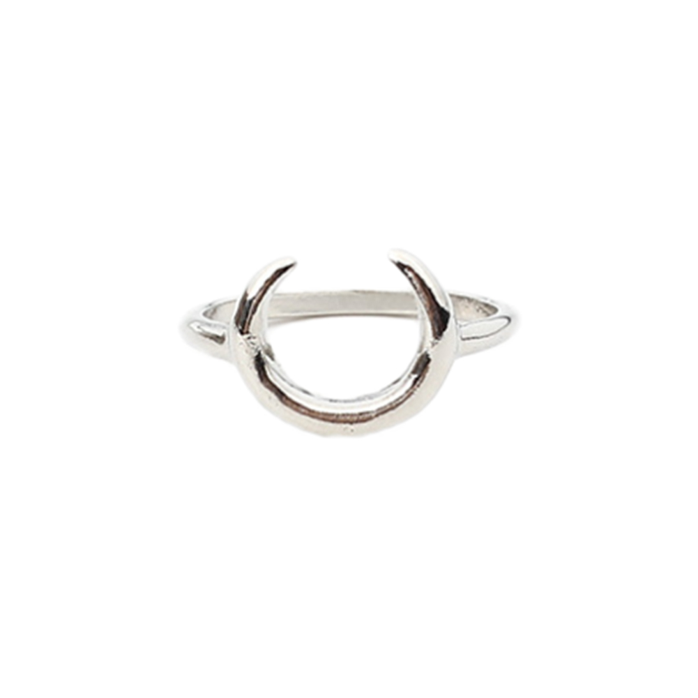 Vintage Tiny Charm New Crescent Moon Ring Jewelry Moon Ring Women Rings hot sale new fashion
