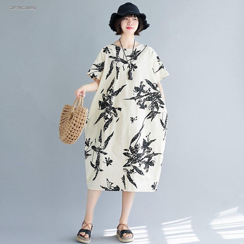 Женские свободные длинные платья в стиле ретро летнее ТРАПЕЦИЕВИДНОЕ ПЛАТЬЕ С