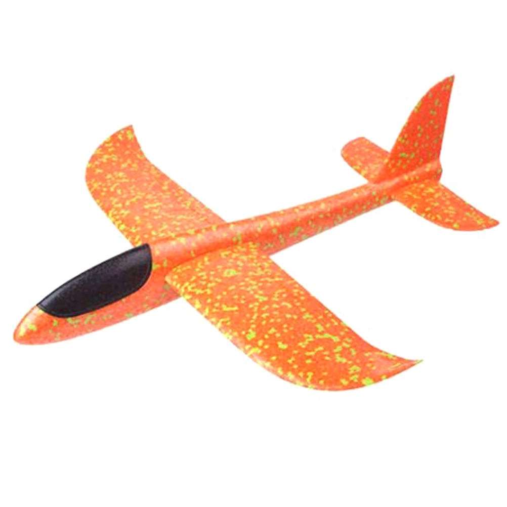 36cm DIY Foam Hand Throw Flying Glider Planes Toys For Children Aeroplane Model Party Bag Fillers Flying Glider Plane Toys Game
