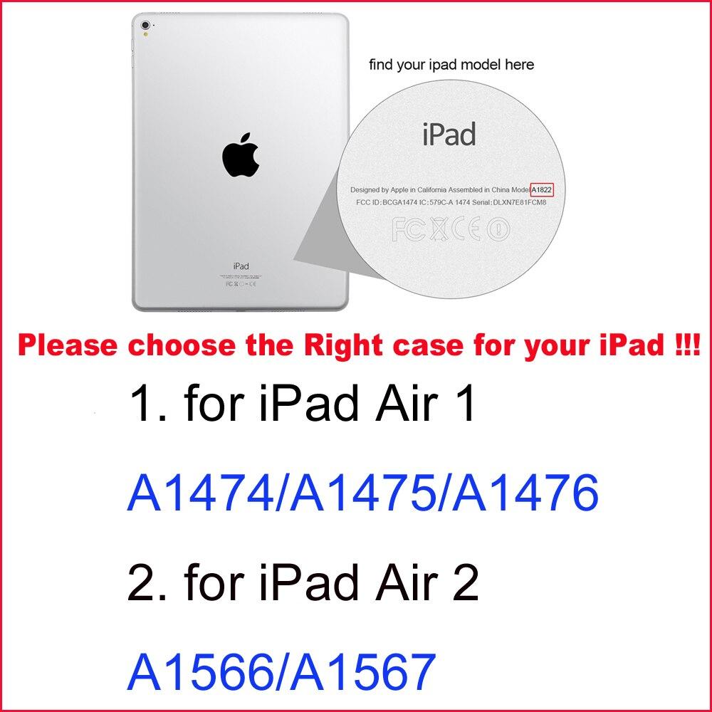 Θήκη για iPad Air 2 / Air 1 Μαγνητική ματ - Αξεσουάρ tablet - Φωτογραφία 4