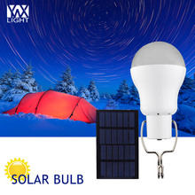 YWXLight 15W Solar Powered Portable Led Bulb Lamp Solar Energy Solar Panel Light Energy Solar Outdoors Camping Light Lighting