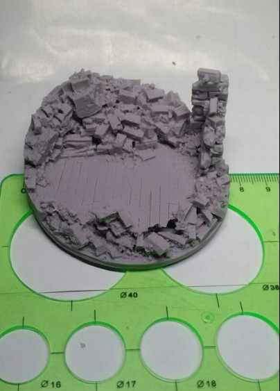 1/35 WW2 model scene accessories architectural model material Resin floor ruins Model Kit figure Free Shipping
