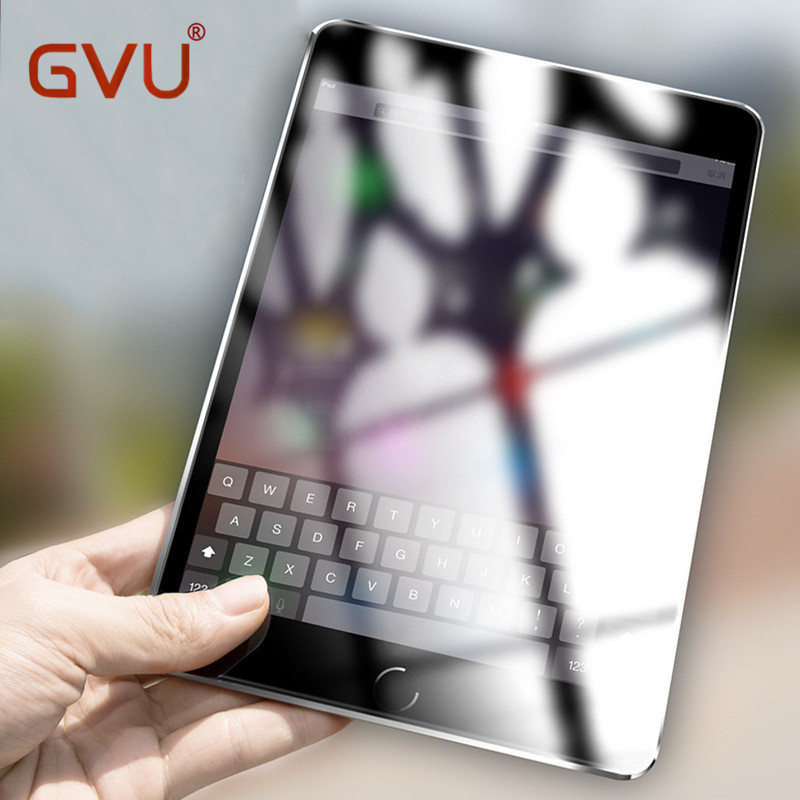 GVU Temperd Verre Pour iPad 2/3/4 5 6 Mini 1 2 3 4 Air 1 2 Écran Protecteur HD Explosion Écran Preuve Film de Protection Cas de Couverture