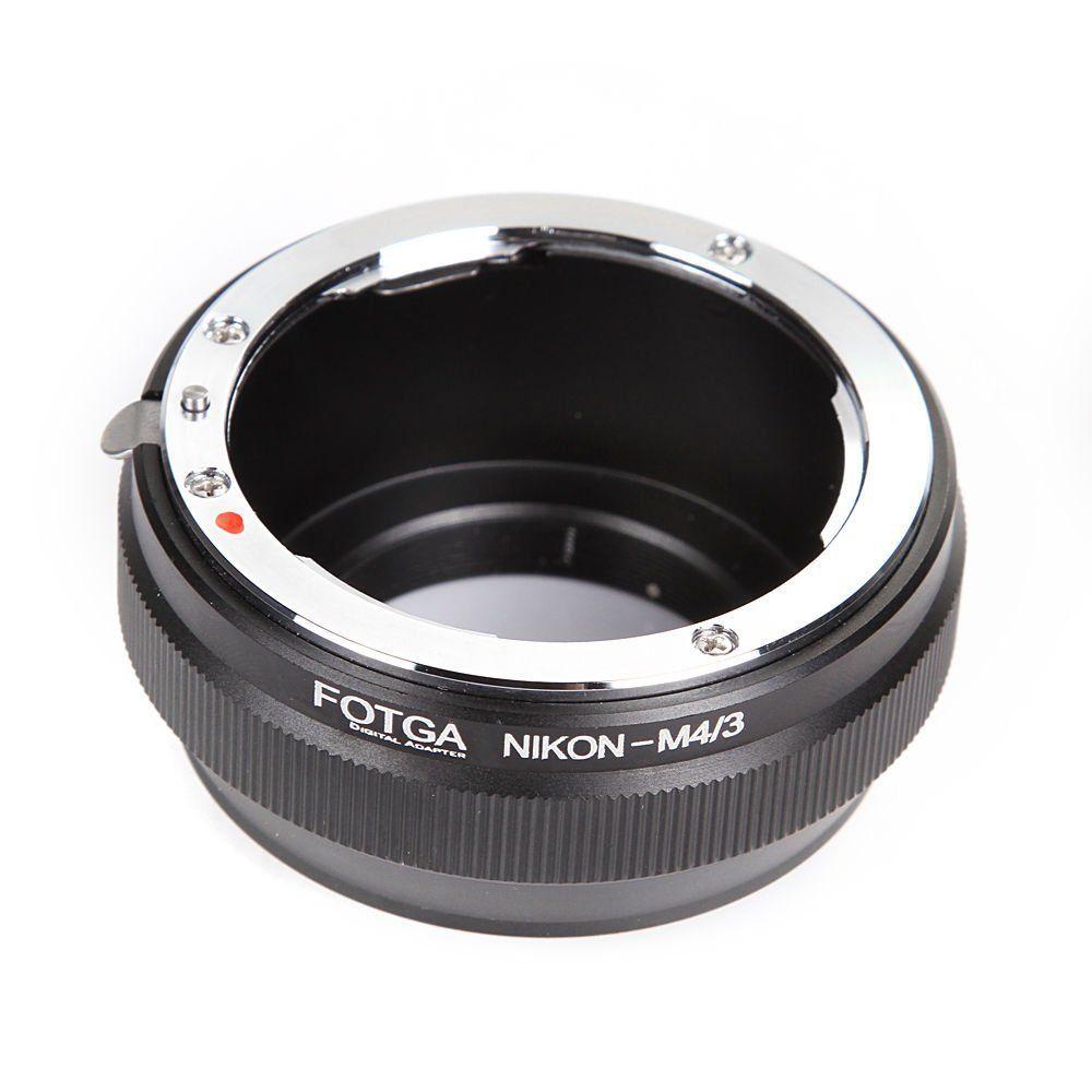 FOTGA Bague D'adaptation D'objectif pour Nikon AI Monture à Panasonic Olympus Micro 4/3 m4/3 E-P1 E-P2 E-PL3 GH3 GF1
