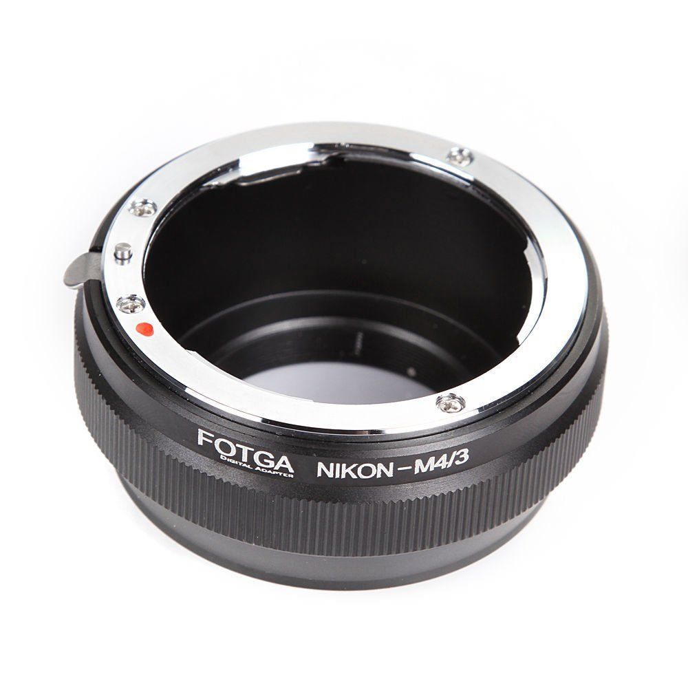FOTGA Lens Adapter Ring for Nikon AI Mount Lens to Panasonic Olympus Micro 4/3 m4/3 E-P1 E-P2 E-PL3 GH3 GF1