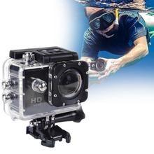 CUJMH 2.0 inch screen 1080p outdoor diving waterproof Esportes camera, sports DV riding Los deportes camera