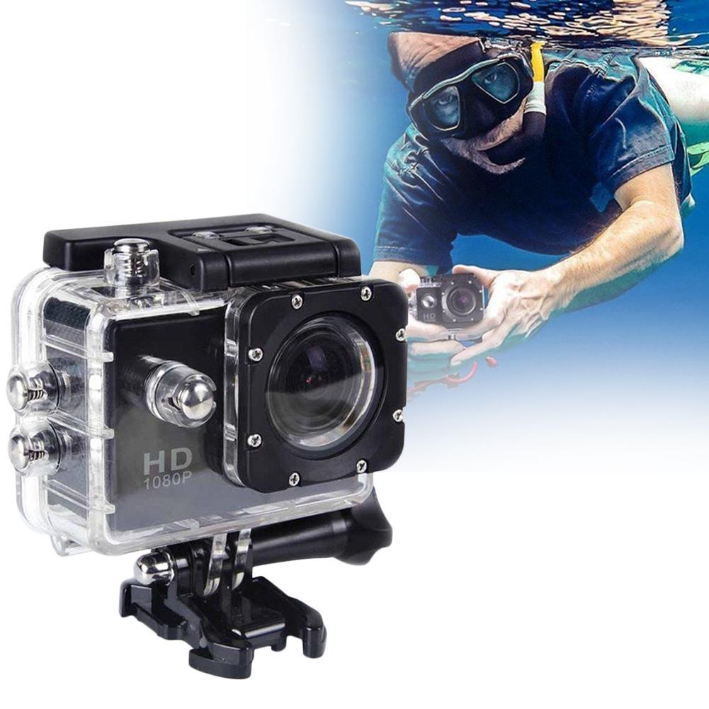 CUJMH 2.0 polegada tela de 1080 p câmera de Esportes ao ar livre mergulho à prova d' água, câmera DV esportes ao ar livre equitação de Los deportes