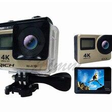 DHL, 10 шт./лот, T350 ultra FHD, 4 K, Экшн-камера, Wi-Fi, 1080 P, 60fps, 2,0 lcd, 170D, Full HD, 30 M, водонепроницаемая экшн видеокамера DV, Спортивная камера