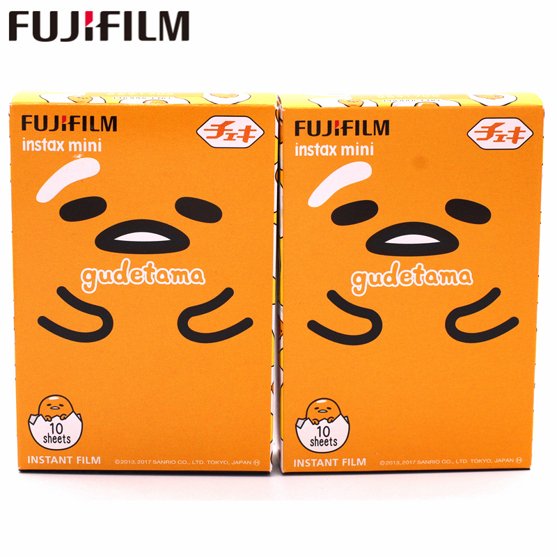 Doelbewust 2017 Nieuwe Fujifilm Instax Mini 8 9 Film Gudetama 20 Vellen Photo Papier Voor Fuji Instant Mini8 9 7 S 25 50 S 70 90 Camera