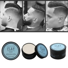 Hair-Styling-Clay Matte Shine Hold Finished High-Strong Fashion Daily-Use Low Mens 100ml/3.33fl-Oz