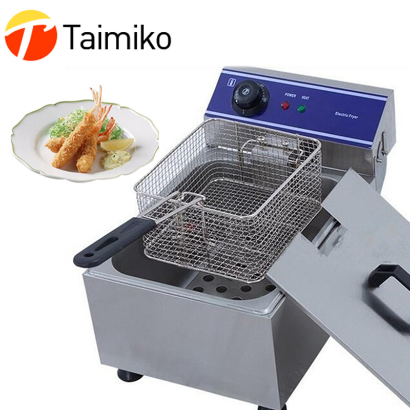 все цены на Electric small home household healthy fish shrimp chicken sweet potato french fries deep fryer to fry various delicious food онлайн