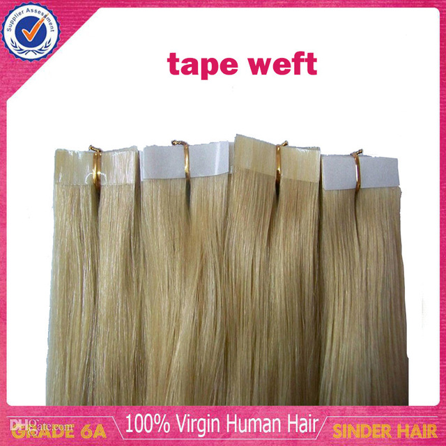 Remy Tape Hair Extensions 100 Gram Skin Weft Hair Extensions Best