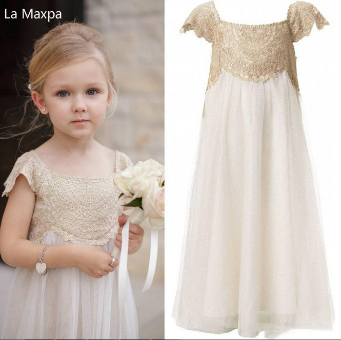 Girls Princess Dress Lace Fashion Long Dress Panio Show Children's Birthday Party Dance Party Dresses Children Wedding Clothing new high quality fashion excellent girl party dress with big lace bow color purple princess dresses for wedding and birthday