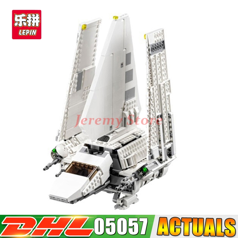 Lepin 05057 937Pcs Star Series War New The Fighting Shuttle Set Model Building Kit Blocks Bricks Toy Gift With 75094