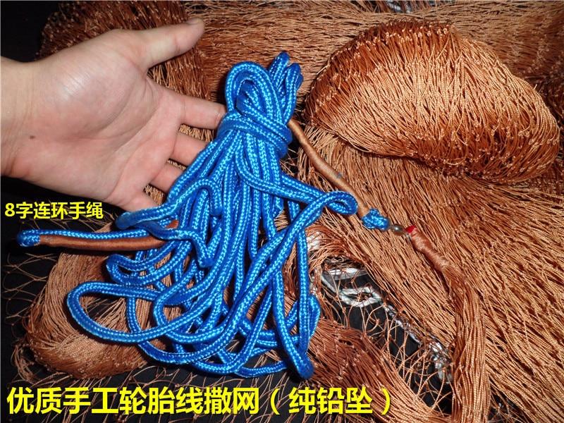 Handmade pneu fio net ( chumbada )