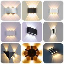 Modern led wall light 6W aluminum lamp Indoor Outdoor lighting Home decor Wall mounted lamps