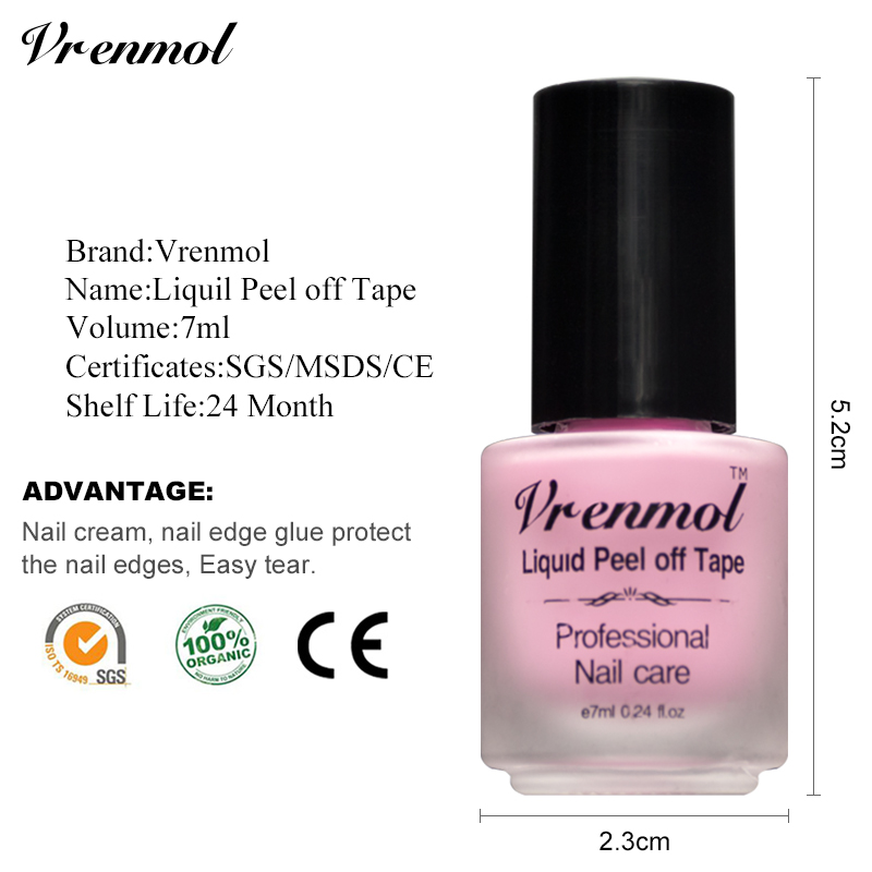 Aliexpress Vremol White Pink Finger Skin Protected Glue L Off Liquid Gel Nails Polish Care Nail Art Palisade Cuticle Cream From Reliable
