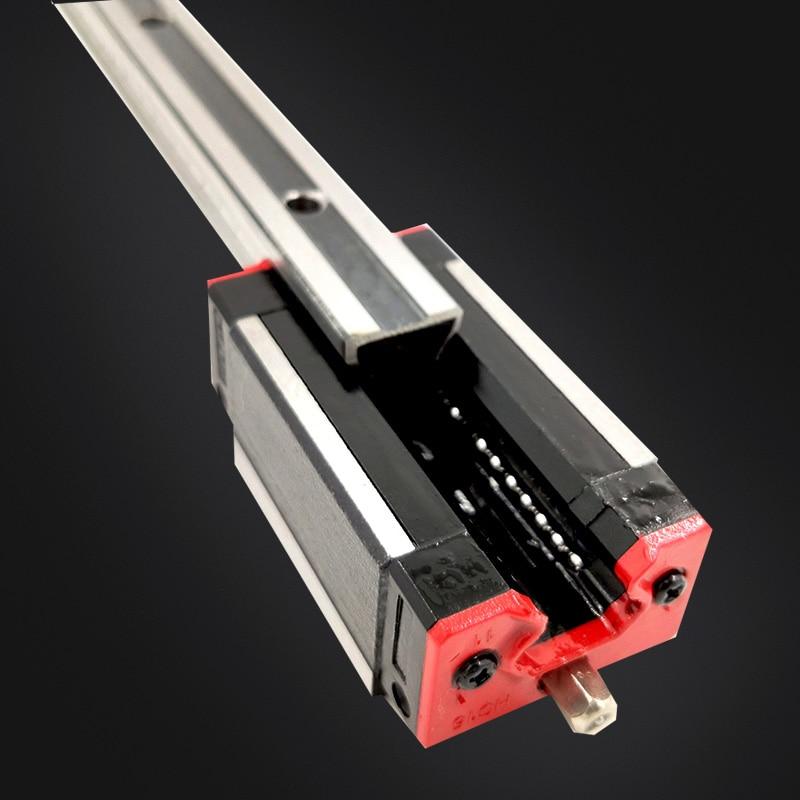 Rail de précision 1PC HGH30 guide linéaire + 2 pièces HGH30CA bloc ou HGW30CC bride bloc L 400 500 600 700 800-1500mm pour CNC - 4