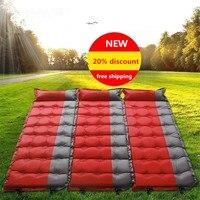 Automatische Opblaasbare matras Camping Mat Outdoor PVC Kussens Opblaasbare Air Matras Camping Slaapmat Met Kussen 2016