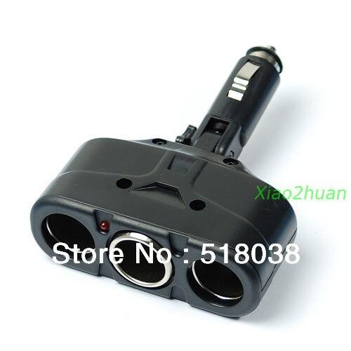 Z101- Car Cigarette Socket Splitter Adapter Charger 3 Way 12V - Julia's 2014 store
