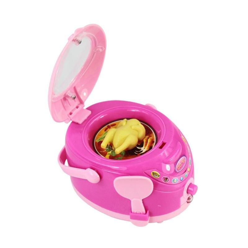 Konstruktiv Mini Reiskocher Simulation Küche Spielzeug Für Kinder Spielen Haus Spielzeug Miniatur Pretend Play Werkzeug Kinder Küche Puppen