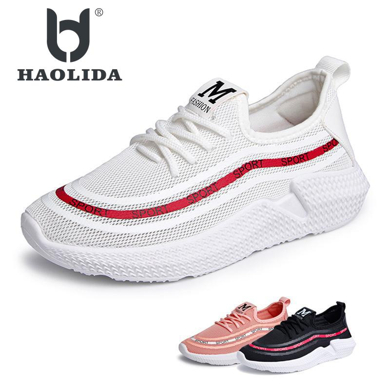Shoes Women 2018 Spring Fashion Platform Sneakers Women Casual Shoes Ladies White Breathable Air Mesh Walking Shoes Femme Flats